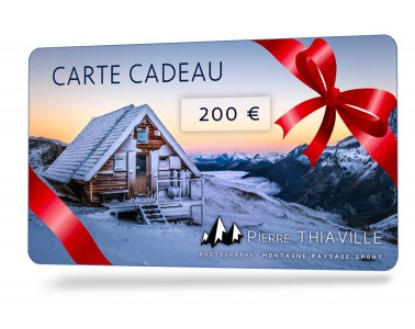 Carte cadeau photo 200€-Vente en ligne Carte Cadeau Photo